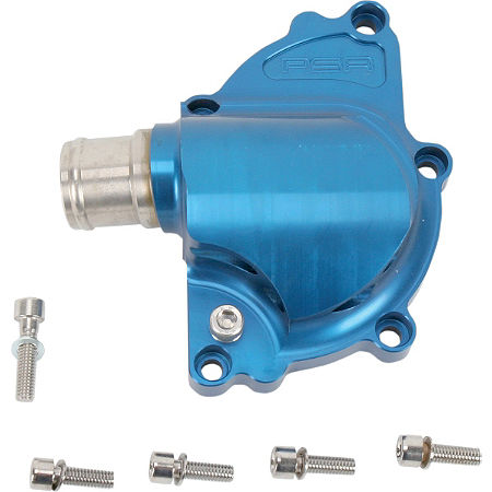 Powerstands Racing Water Pump Cover - Blue