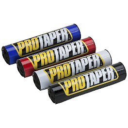 "Pro Taper Round Handlebar Pad - 8.6"" - Pro Taper Dual Compound Grips - Twist Throttle"