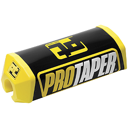 Pro Taper 2.0 Square Bar Pad - Pro Taper Dual Compound Grips - Twist Throttle