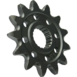 Pro Taper Front Sprocket - 2012 Yamaha YZ125 Pro Taper 520 MX Chain - 120 Links