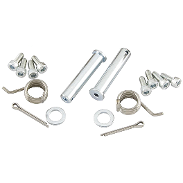 Pro Taper Spi 2.3 Footpeg Hardware Kit - 2009 Suzuki RMZ450 Pro Taper 520 MX Chain - 120 Links