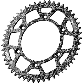 Pro Taper Metal Mulisha Rear Sprocket - 1981 Suzuki RM125 Pro Taper 520 MX Chain - 120 Links