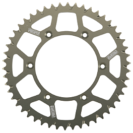 Pro Taper Rear Sprocket - 2008 Kawasaki KX100 Sunstar Aluminum Rear Sprocket