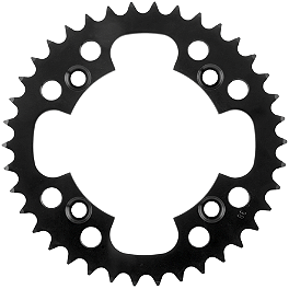 Pro Taper Steel Rear Sprocket - 1990 Suzuki LT230E QUADRUNNER DID 520 ATV X-Ring Chain - 100 Links