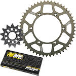 Pro Taper Chain And Sprocket Kit - Renthal 520 Dirt Bike Dirt Bike Parts