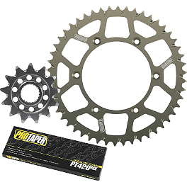 Pro Taper Chain And Sprocket Kit - 2002 Honda CR80 Big Wheel Pro Taper 420 MX Chain - 134 Links
