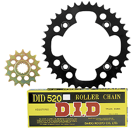 Pro Taper Chain And Steel Sprocket Kit - 2007 Suzuki LTZ400 Pro Taper 520 MX Chain - 120 Links