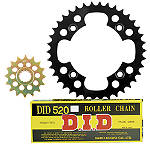 Pro Taper Chain And Steel Sprocket Kit - DID-ATV-PARTS-CHAIN-520-ERV3-XRING-120-LINKS DID ATV