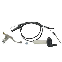 Motion Pro XR50 Cable & Controls Kit - Pro Taper XR50 Extended Front Brake Cable
