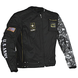 Power Trip US Army Alpha Textile Jacket - Power Trip U.S. Army Flak Jacket