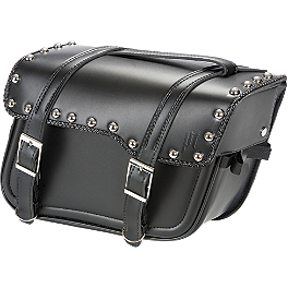 Power Trip Legend Slant Saddlebags - Saddlemen Rigid Mount Universal Desperado Saddlebags