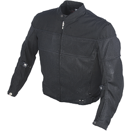 Power Trip Mojave Jacket - TourMaster Raven Jacket