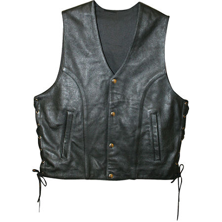 Power Trip Powerglide Leather Vest - Main