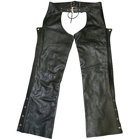 Power Trip Power Leather Chaps - Main