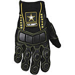 Power Trip US Army Tactical Gloves - Powertrip Shorty Motorcycle Gloves