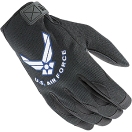 Power Trip US Air Force Halo Gloves - Power Trip US Air Force Tactical Gloves