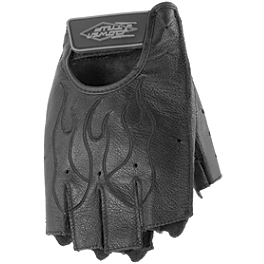 Power Trip Women's Graphite Gloves - Show Chrome Rubber Kickstand Foot