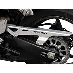 Puig Aluminum Chain Guard - Silver - Puig Motorcycle Body Parts