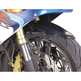 Puig Front Fender - Carbon Look - 2009 Yamaha YZF - R6 Puig Z Racing Windscreen - Dark Smoke