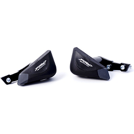 Puig Pro Frame Sliders - Black - 2010 Yamaha YZF - R1 Puig Racing Windscreen - Smoke