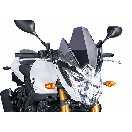 Puig Naked New Generation Windscreen - Dark Smoke - Main