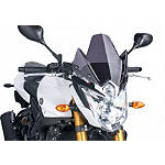 Puig Naked New Generation Windscreen - Dark Smoke -
