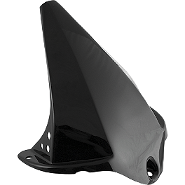 Puig Rear Tire Hugger - Black - Puig Racing Windscreen - Smoke
