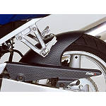 Puig Rear Tire Hugger - Carbon Look - Motorcycle Decals & Graphic Kits