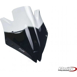 Puig Racing Windscreen - Clear - Puig Racing Windscreen - Smoke