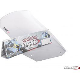 Puig Racing Windscreen - Clear - 2008 BMW F 800 S Puig Racing Windscreen - Smoke
