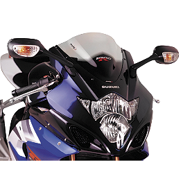 Puig Racing Windscreen - Clear - 2010 BMW K 1300 R Puig Racing Windscreen - Smoke