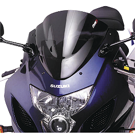 Puig Racing Windscreen - Dark Smoke - 2007 Yamaha YZF - R1 Zero Gravity Double Bubble Windscreen