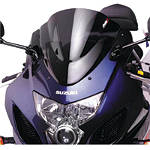 Puig Racing Windscreen - Dark Smoke - Suzuki GS 500F Motorcycle Windscreens and Accessories