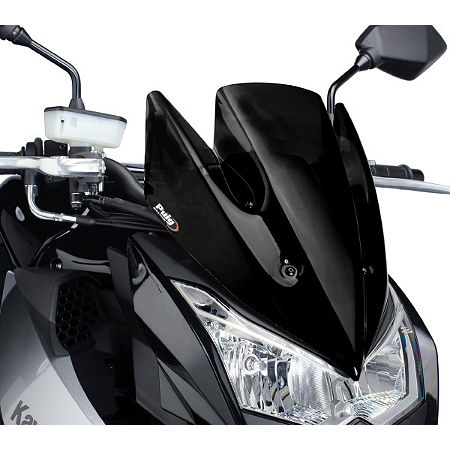 Naked New Generation Windscreen - Black - Main