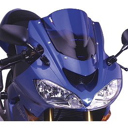 Puig Racing Windscreen - Blue - 2007 Kawasaki EX650 - Ninja 650R Puig Racing Windscreen - Smoke