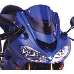 Puig Racing Windscreen - Blue - Suzuki GSX650F Motorcycle Windscreens and Accessories