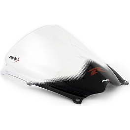 Puig Racing Windscreen - 2mm Clear - 2006 Suzuki GSX-R 750 Puig Racing Windscreen - Smoke