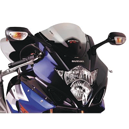 Puig Racing Windscreen - Clear - 2004 Suzuki GSX-R 1000 Puig Rear Tire Hugger - Black