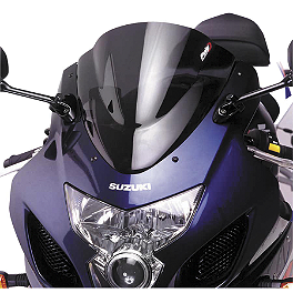 Puig Racing Windscreen - Dark Smoke - 2010 Honda CBR1000RR Zero Gravity Double Bubble Windscreen