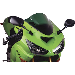 Puig Racing Windscreen - Green - 2011 Kawasaki ZX1000 - Ninja 1000 Puig Racing Windscreen - Smoke