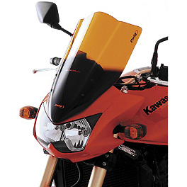 Puig Racing Windscreen - Orange - 2006 Honda CBR1000RR Puig No Mod Crash Pads - Red