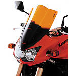 Puig Racing Windscreen - Orange - Triumph Motorcycle Windscreens and Accessories