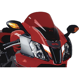Puig Racing Windscreen - Red - 2009 Kawasaki EX650 - Ninja 650R Puig Racing Windscreen - Smoke