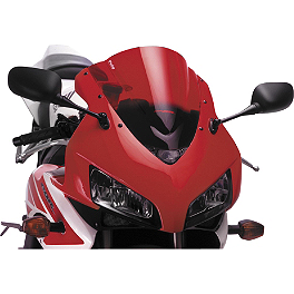 Puig Racing Windscreen - Red - Puig No Mod Crash Pads - Red