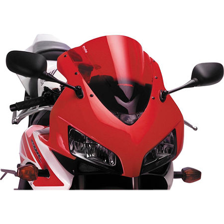 Puig Racing Windscreen - Red - Main