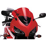 Puig Racing Windscreen - Red - Yamaha Motorcycle Windscreens and Accessories