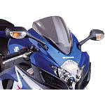 Puig Racing Windscreen - Smoke - Suzuki GSX-R 1000 Motorcycle Windscreens and Accessories