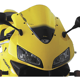 Puig Racing Windscreen - Yellow - 2011 Suzuki GSX-R 1000 Puig Z Racing Windscreen - Dark Smoke
