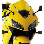 Puig Racing Windscreen - Yellow -  Motorcycle Windscreens and Accessories