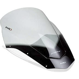 Puig Touring Windscreen - Smoke - 2006 Yamaha FZ1 - FZS1000 Puig Rear Tire Hugger - Black